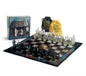 Šachová sada - Pán prsteňov: Bitka o Stredozem