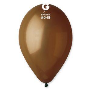 Balónik pastelový kakaová hnedá 26 cm