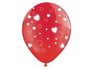 Balónik so srdiečkami