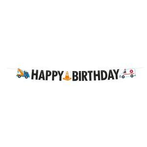 Banner Happy Birthday - Cestná premávka