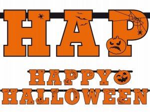 Banner Happy Halloween 210cm