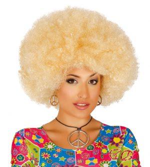 Blond afro parochňa