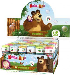 Bublifuk Maša a Medveď 60ml