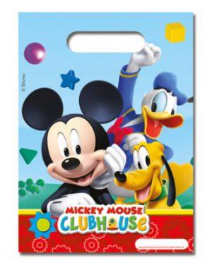 Darčeková party taška - Mickey Mouse 6 ks