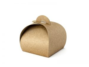 Darčekové krabičky - hnedé 10 ks