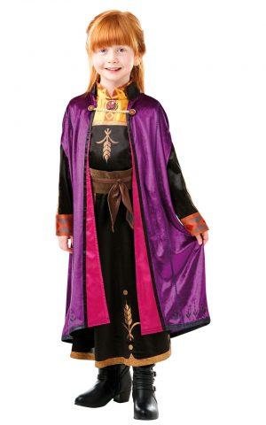 Detský deluxe kostým - Anna (šaty) Veľkosť - deti: XL