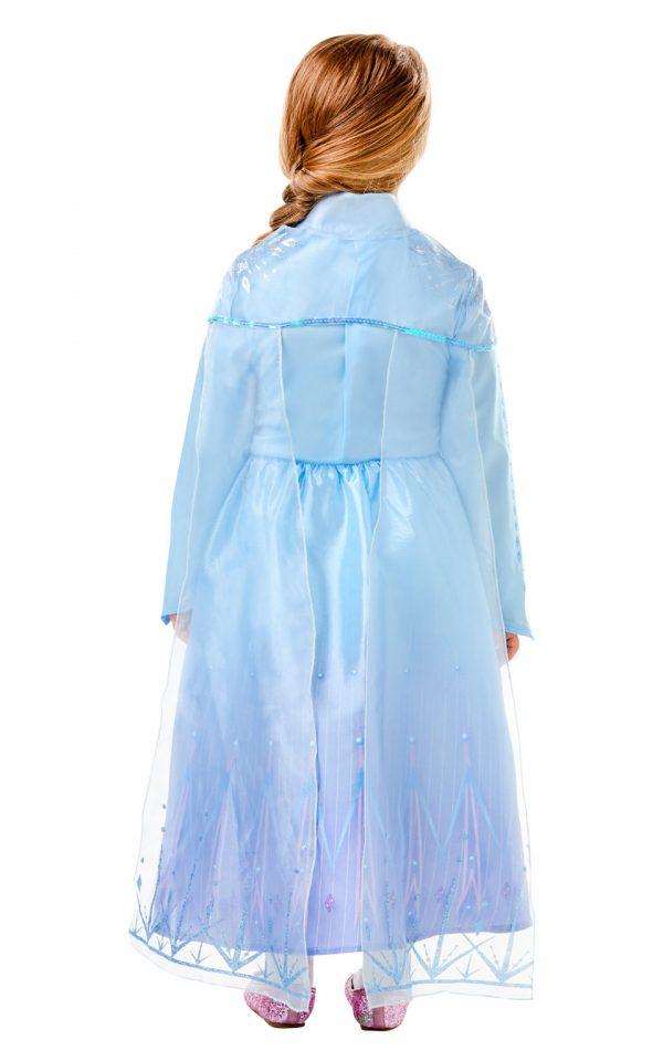 Detský deluxe kostým - Elsa (šaty) Veľkosť - deti: XS-2