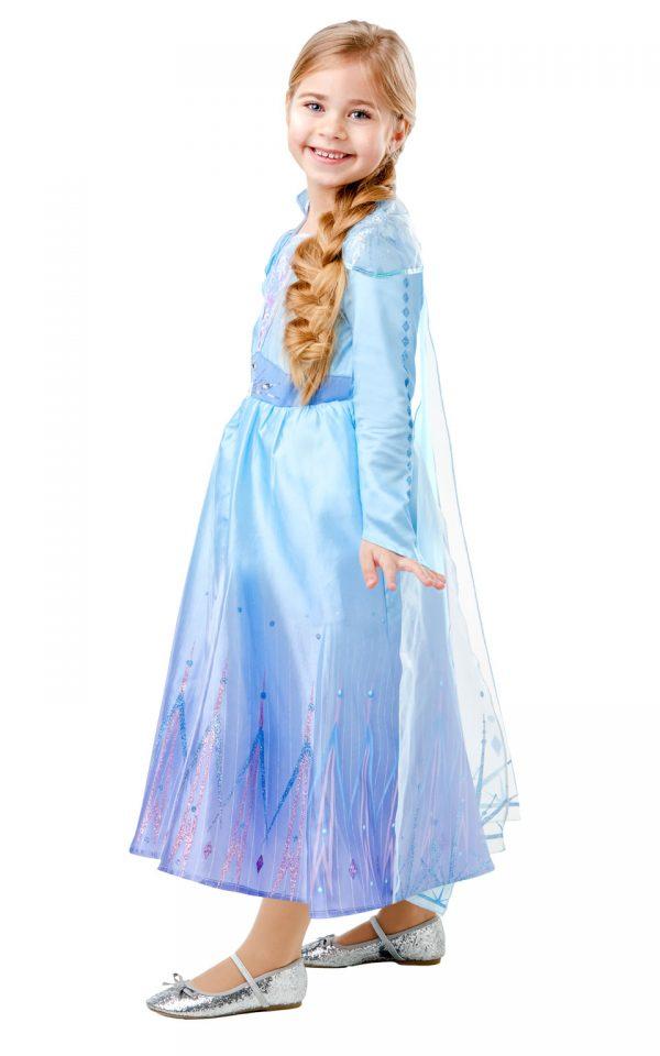 Detský deluxe kostým - Elsa (šaty) Veľkosť - deti: XS-3
