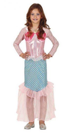 Detský kostým - Ariel malá morská panna Veľkosť - deti: XL