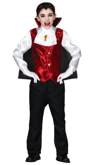 Detský kostým Drakula Veľkosť - deti: S
