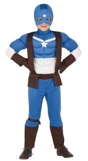 Detský kostým - Kapitán Amerika Veľkosť - deti: XL