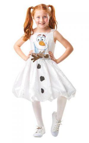 Detský kostým - Olaf (Frozen) Veľkosť - deti: XL