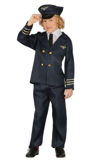 Detský kostým Pilot Veľkosť - deti: M