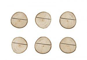 Držiak na menovky - drevený