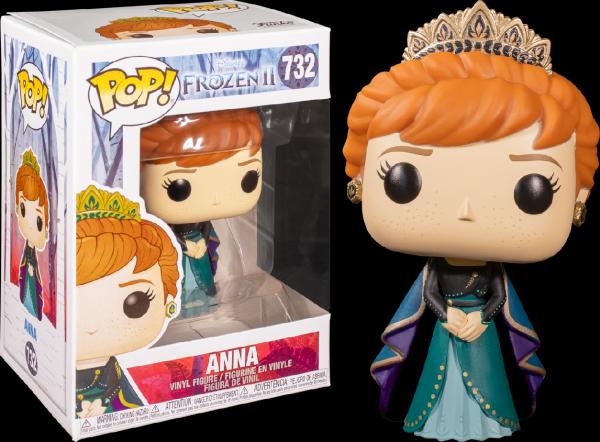 Figúrka Funko POP Disney Frozen 2 - Anna (Epilogue)-2