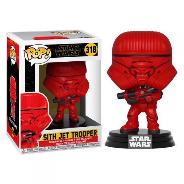 Figúrka Funko POP Star Wars Rise of Skywalker-Sith Jet Trooper-2