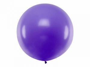 Guľatý latexový Jumbo balón 1m levanduľa
