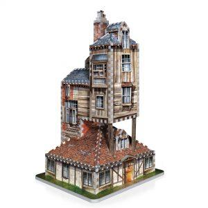 Harry Potter 3D Puzzle - Rodinný dom Weasleyovcov
