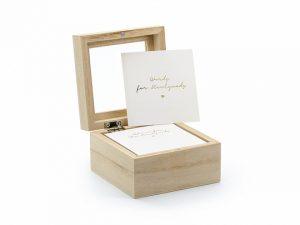 Kniha hostí - Drevená krabička