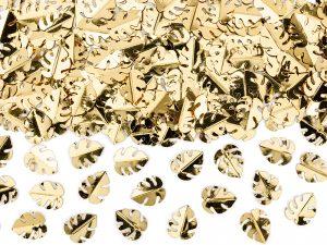 Konfety - zlaté listy