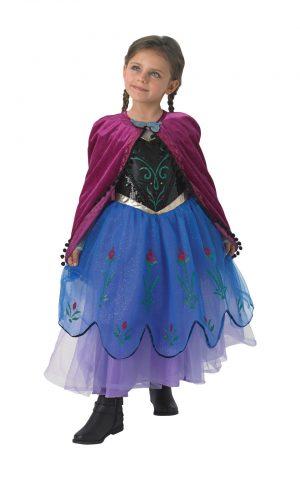 Kostým Frozen: Anna Premium Veľkosť - deti: S
