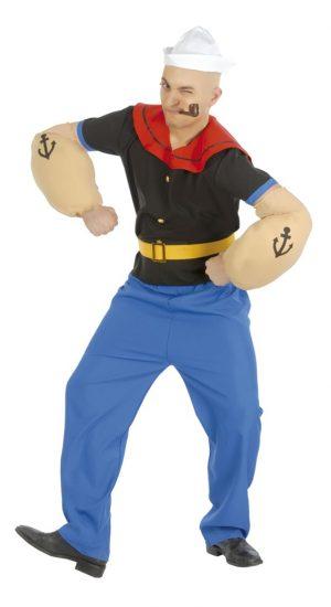 Kostým Pepek námorník Veľkosť - dospelý: M