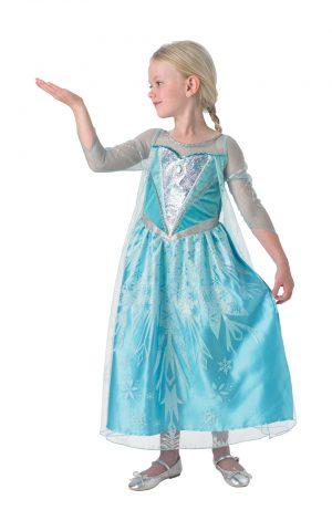 Kostým Premium Elza - detský Veľkosť - deti: S