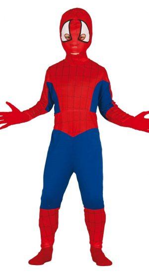 Kostým Spiderman - detský Veľkosť - deti: S