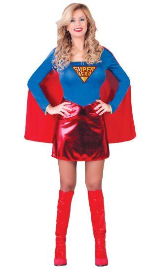 Kostým Superhrdinky Veľkosť - dospelý: M