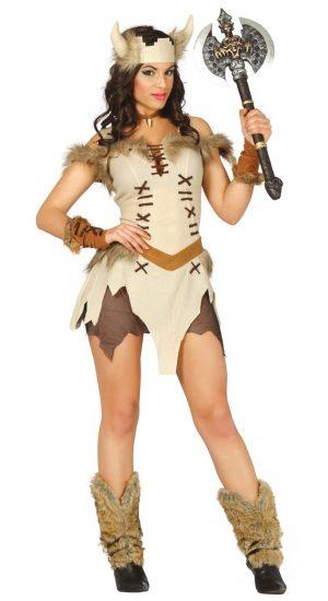 Kostým Vikingskej Ženy Veľkosť - dospelý: S