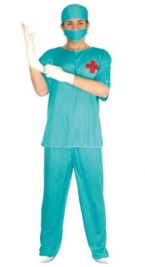 Kostým chirurga Veľkosť - dospelý: M