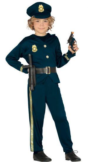 Kostým policajta - detský Veľkosť - deti: L