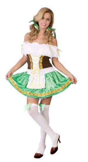 Kostým tirolskej Ženy Veľkosť - dospelý: L