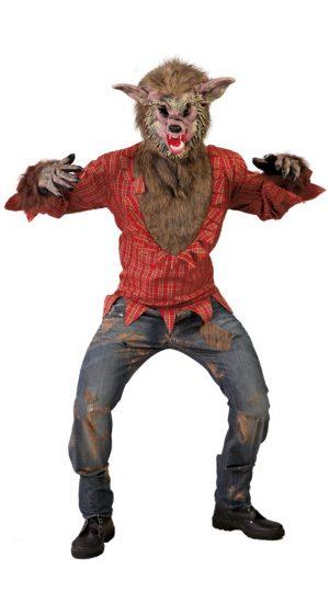 Kostým vlkodlaka Veľkosť - dospelý: L