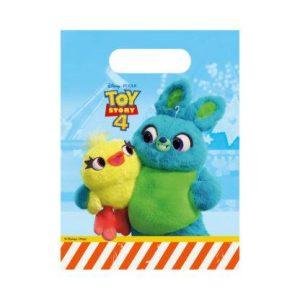 Párty tašky - Toy Story 4 (6 ks)