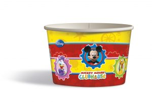 Papierové košíčky Mickey Mouse 8 ks