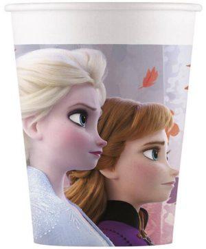 Papierové poháre - Frozen 2 (200 ml)