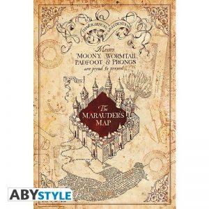 Plagát Harry Potter - Mapa záškodníkov