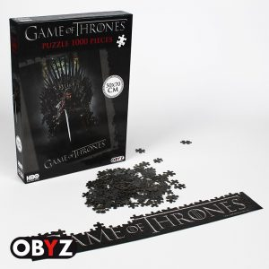 Puzzle Hra o tróny - Ned na Železnom tróne
