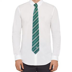 Slizolínska kravata Harry Potter so sponou - Deluxe box