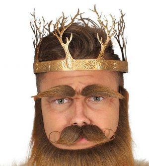 Stredoveká kráľovská koruna