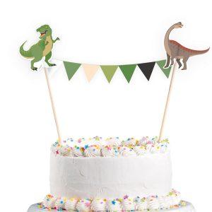 Ozdoba na tortu - Šťastný Dinosaurus