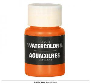 Farba na báze vody 28 ml - rôzne farby Farba: oranžová
