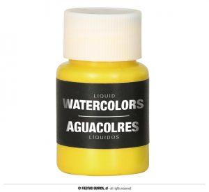 Farba na báze vody 28 ml - rôzne farby Farba: žltá