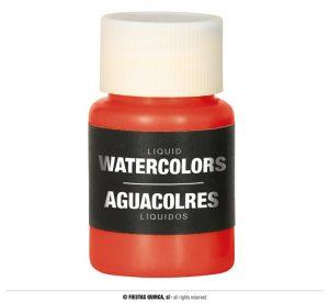 Farba na báze vody 28 ml - rôzne farby Farba: oranžová-11