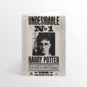 Pohyblivá pohľadnica Harry Potter - Ministry Undesirable No.1