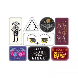 Súprava magnetiek Harry Potter 8 ks