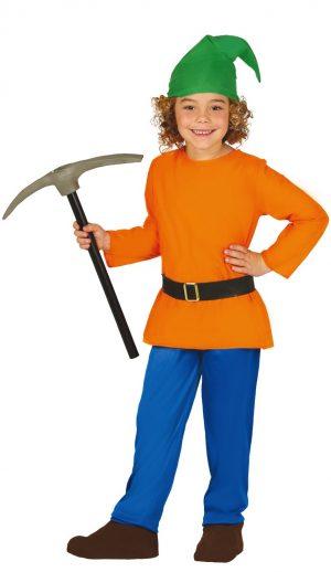 Detský kostým - Lesný trpaslík Veľkosť - deti: XL