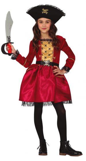 Detský kostým - Pirátka Veľkosť - deti: XL