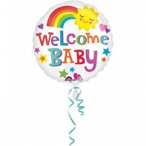 Fóliový balón - Welcome baby